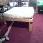 My bed frame grew legs!