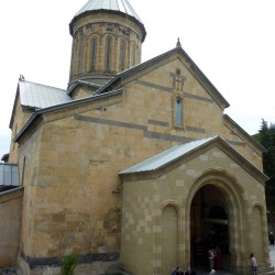 """Georgian Orthodox """"Sioni"""" cathedral attracts believers and beggars"""
