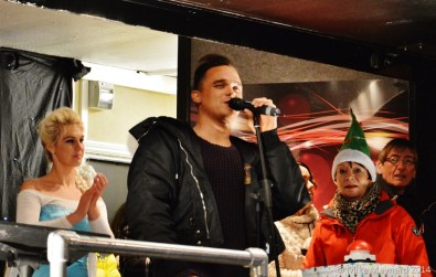 Gareth Gates Christmas Lights switch-on