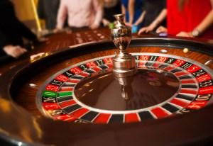 Casino, roulette wheel.