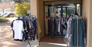 Image of Barney Boutique Outside Church Doors - St Barnabas' Charnwood