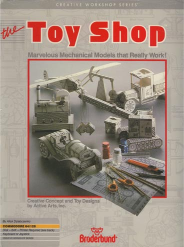 Toy Shop Box Cover