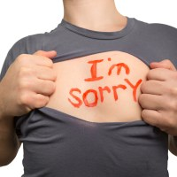 Apologize Even When You've Done Nothing Wrong!