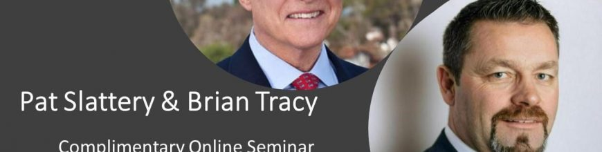 Global Online Masterclass with Brian Tracy & Pat Slattery