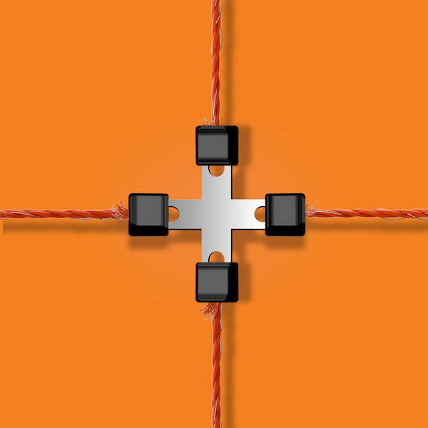 Litzclip-Cross-Connector