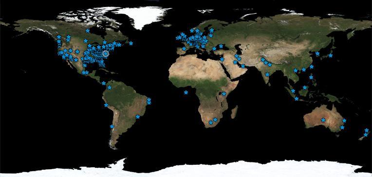 worldwidevisitors