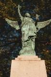 Angel on Glorious Dead Statue Saint John Photograph