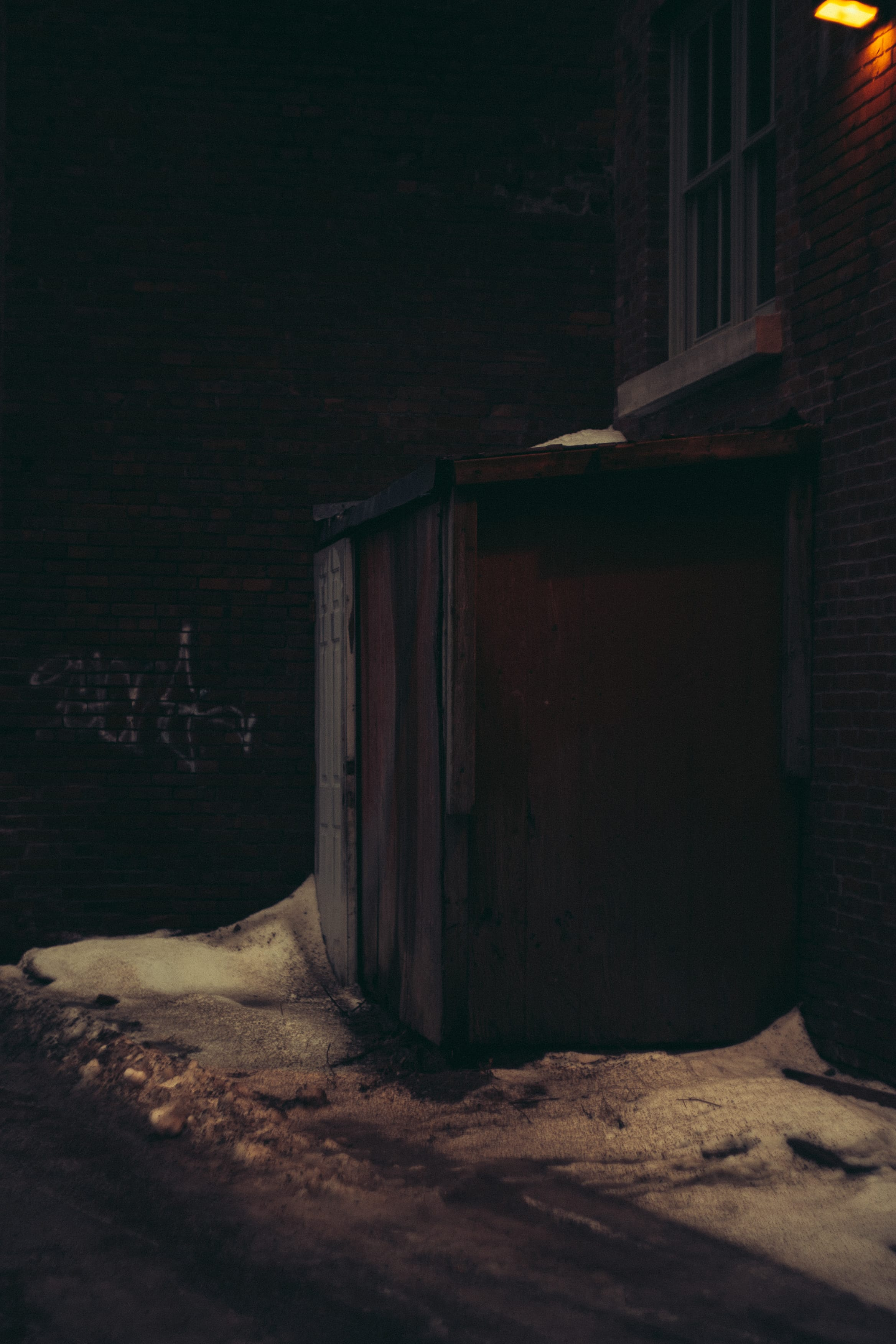 A photograph depicting Back Shed on Grannan Street