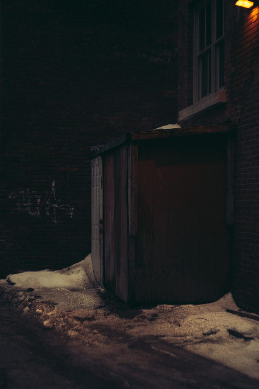 Click thumbnail to see details about photo - Back Shed on Grannan Street Photograph