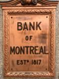 Bank of Montreal Sign King Street Saint John Photograph