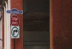Grannan Street Stop Sign Photograph