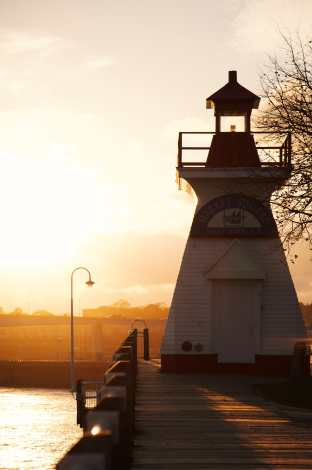 Market Square Lighthouse Saint John Photograph