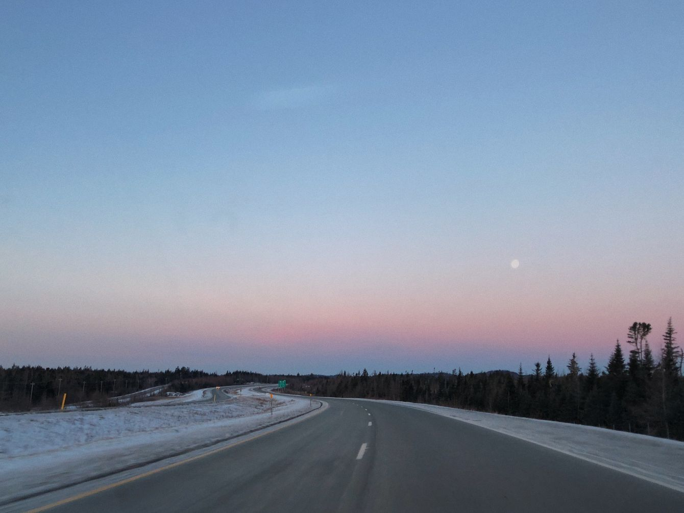 Click thumbnail to see details about photo - Route 1 in the Morning Photograph