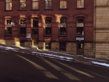 Shadows and Highlights on Britts Pub Photograph