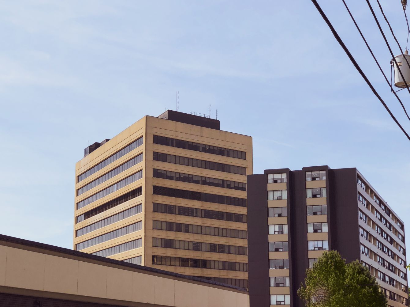 Click thumbnail to see details about photo - View from Prince Edward Street Saint John Photograph