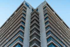 Looking up at Bell Aliant Building Photograph