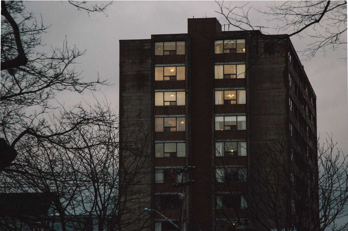 Click thumbnail to see details about photo - Prince Edward Square Apartments Photograph