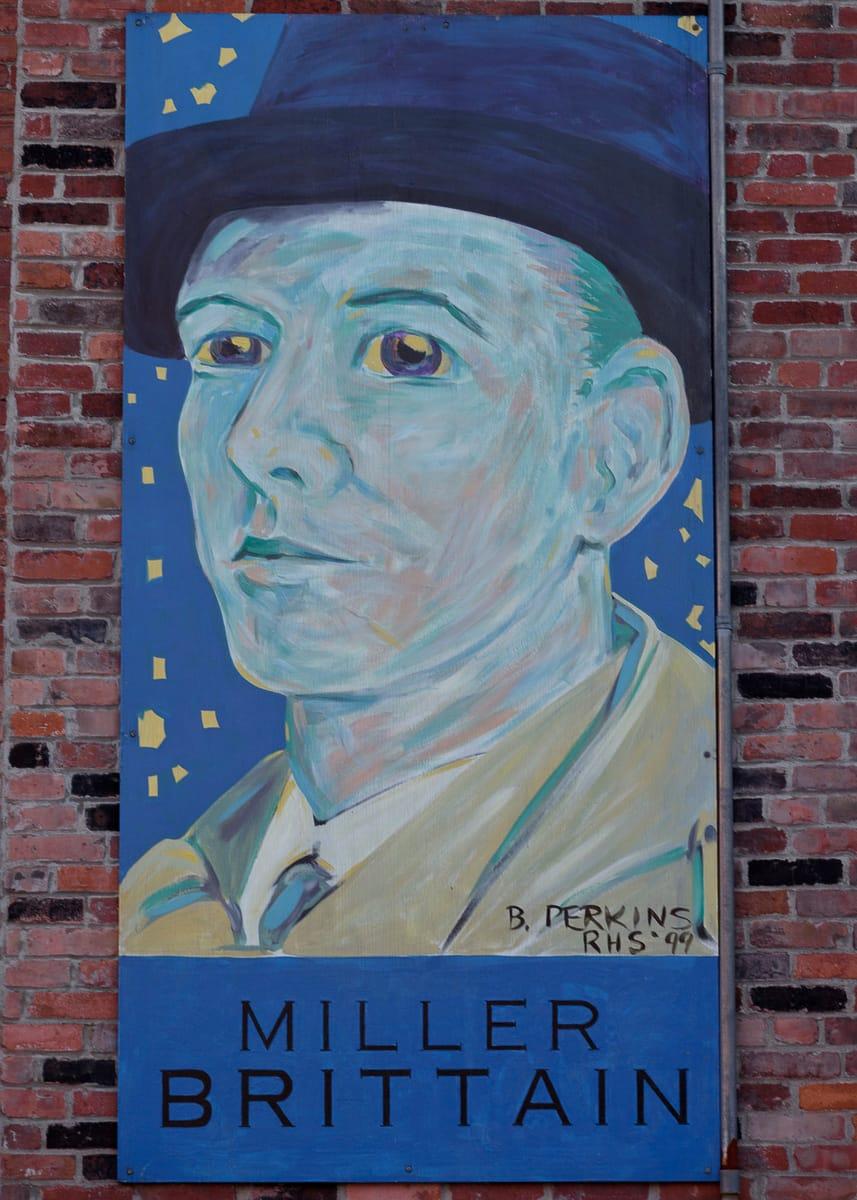 A photograph depicting Saint John Famous Saint John Miller Brittain