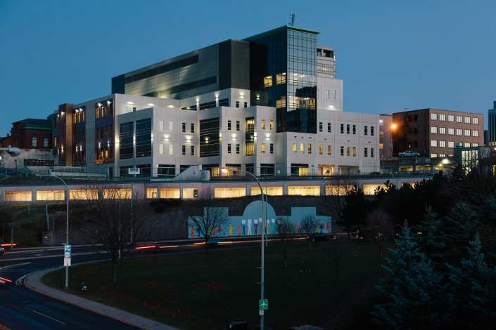 Saint John New City Hall Photograph