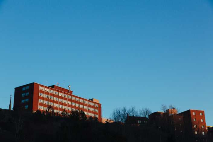 St Josephs Hospital Saint John Photograph