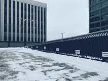 Top of Parking Lot Brunswick Square Photograph
