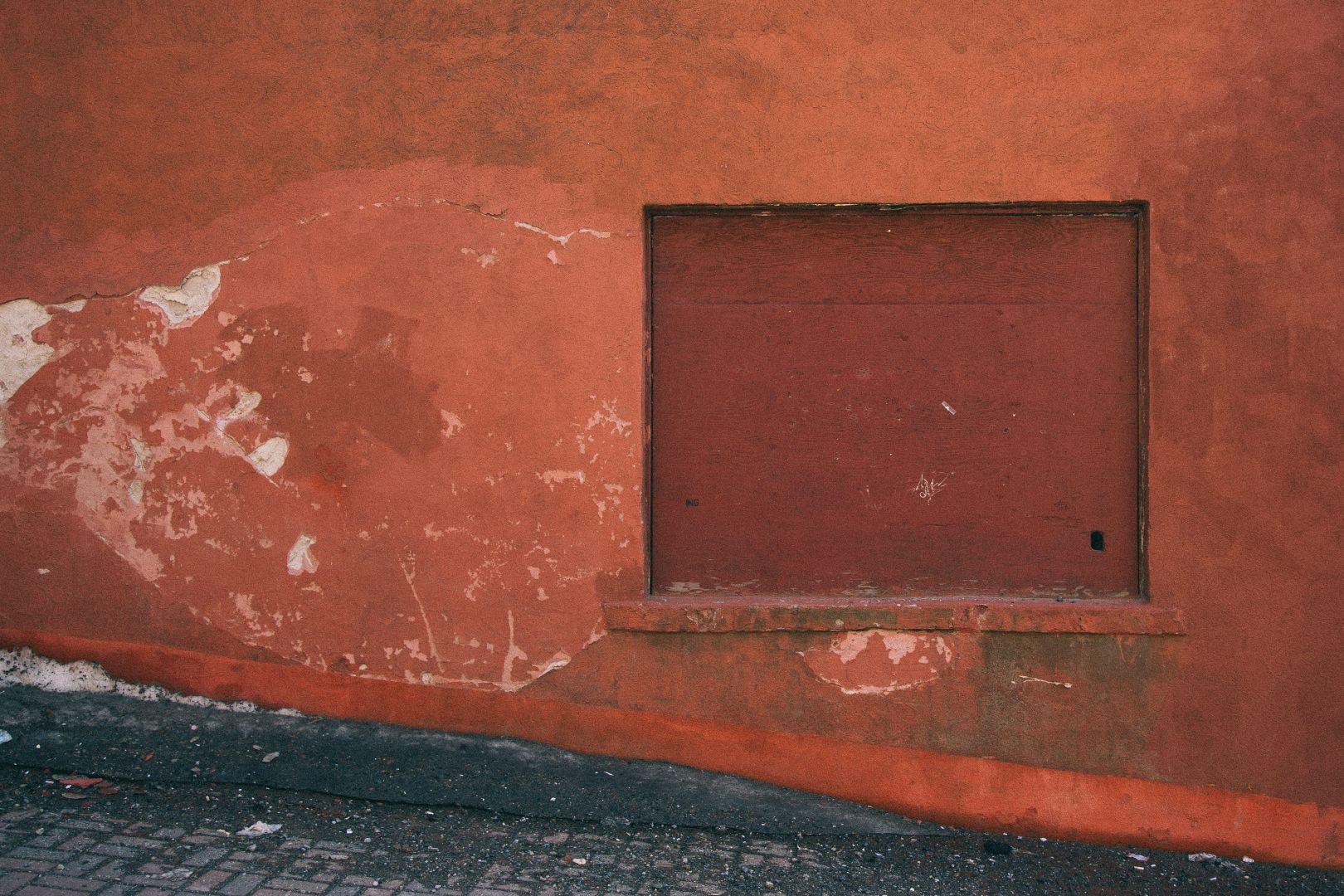 A photo of Boarded Window Grannan Street Saint John Photograph