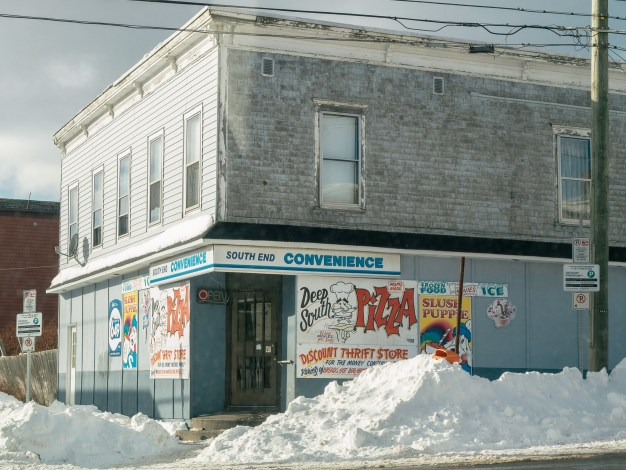 South End Convenience Snow Bank Saint John Nb Photograph