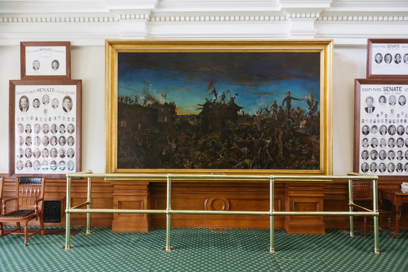 A photo of Austin Texas State Capital Artwork