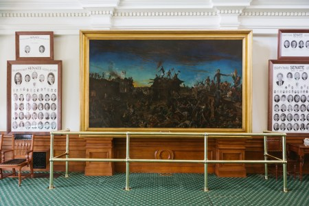 A photo of Austin Texas State Capital Artwork