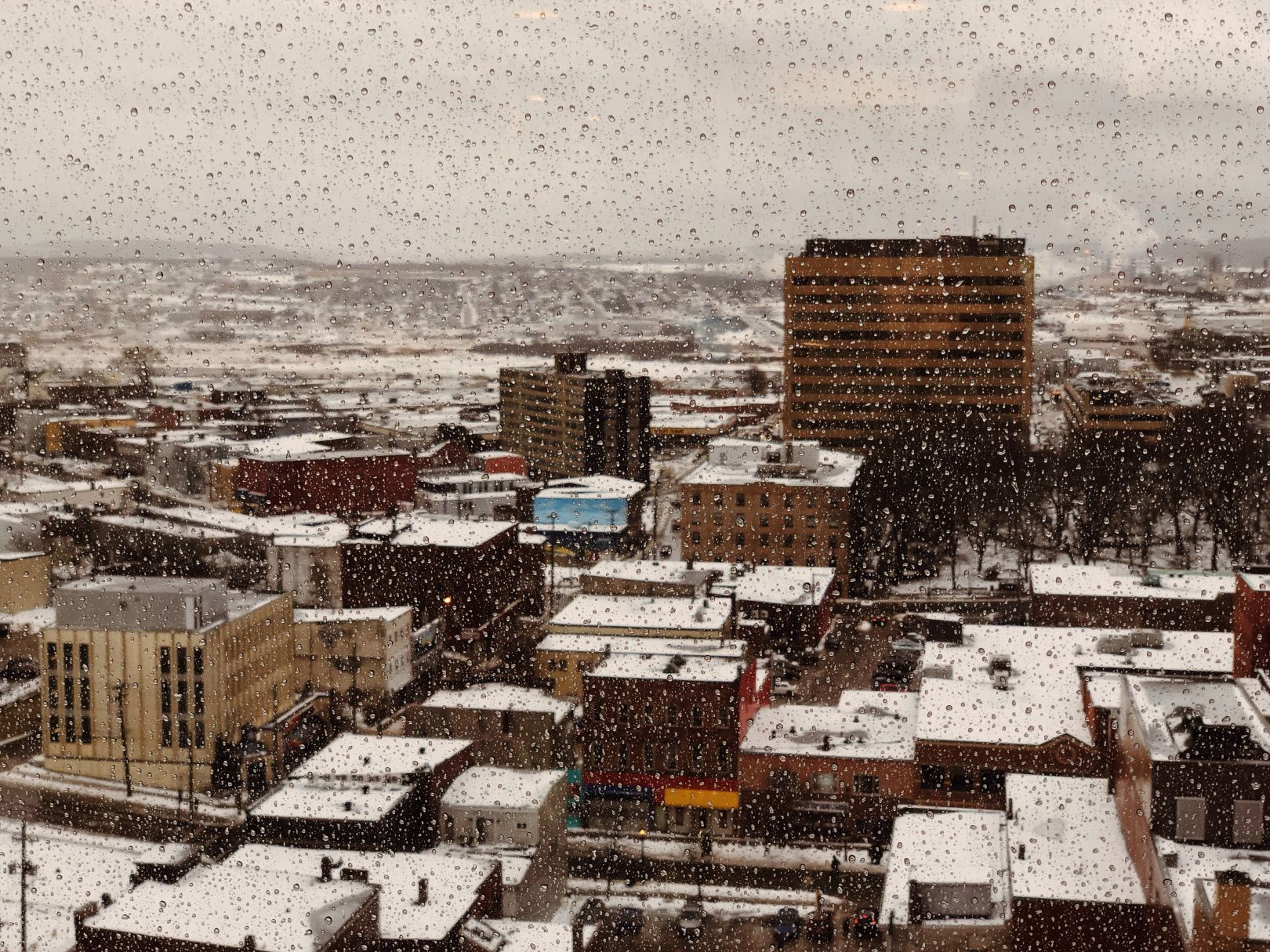 A photo of Looking Out On A Messy Saint john