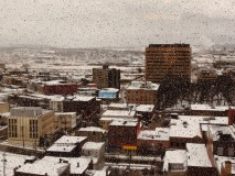 Looking Out On A Messy Saint john