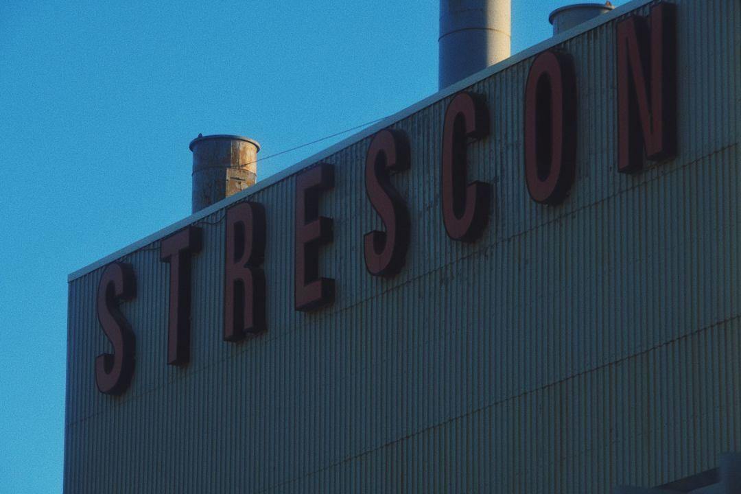A photo of Strescon Logo