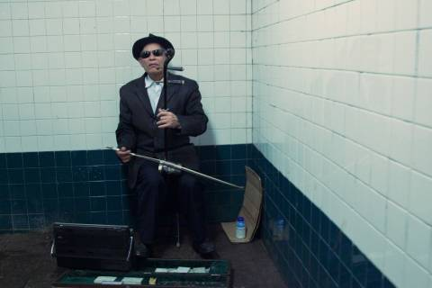 A photo of New York City Blind Musician