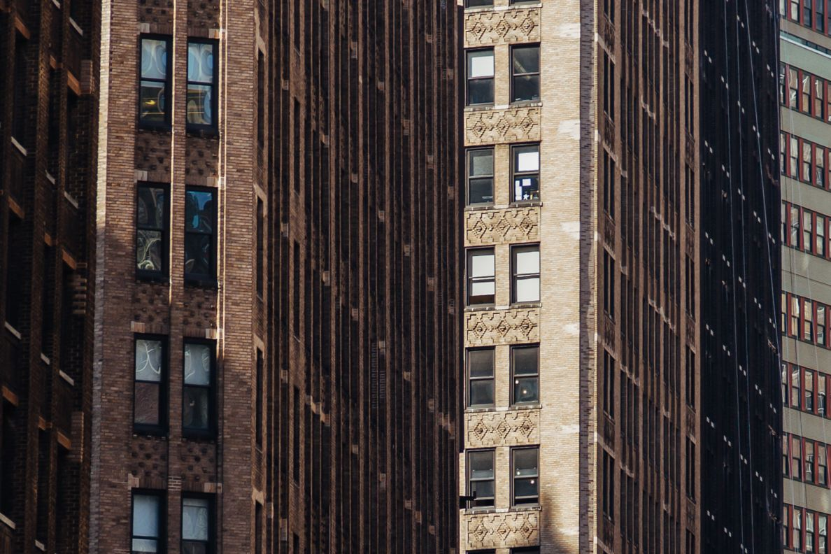 A photo of New York City Compressed Facades