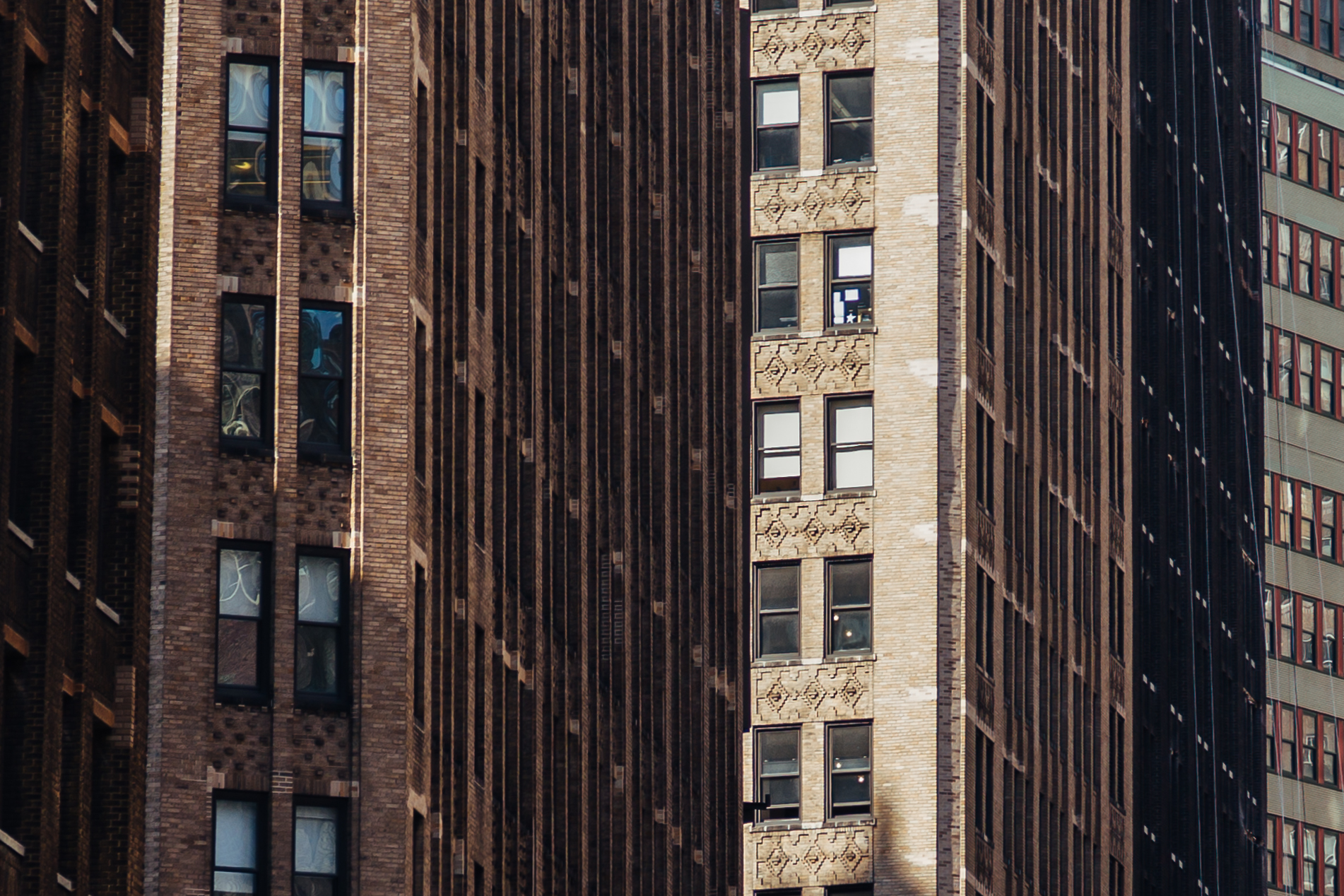 New York City Compressed Facades