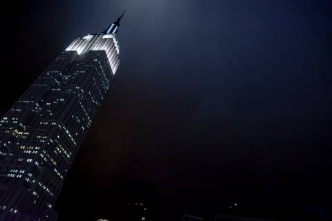A photo of New York City Empire State Building