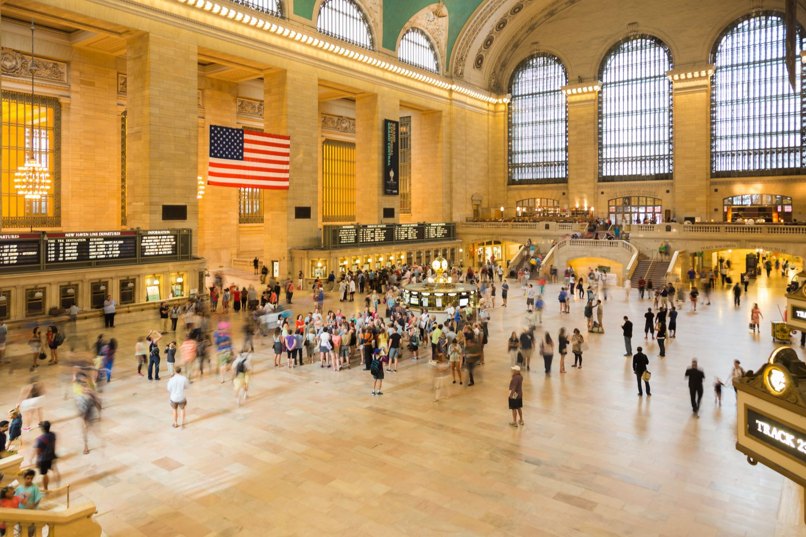 A photo of New York City Grand Central Station