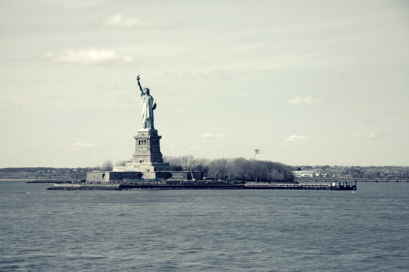 Click thumbnail to see details about photo - New York City Statue Of Liberty