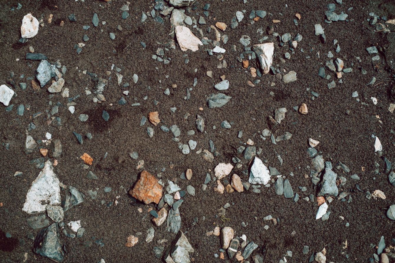 Click thumbnail to see details about photo - Rocky Beach Texture