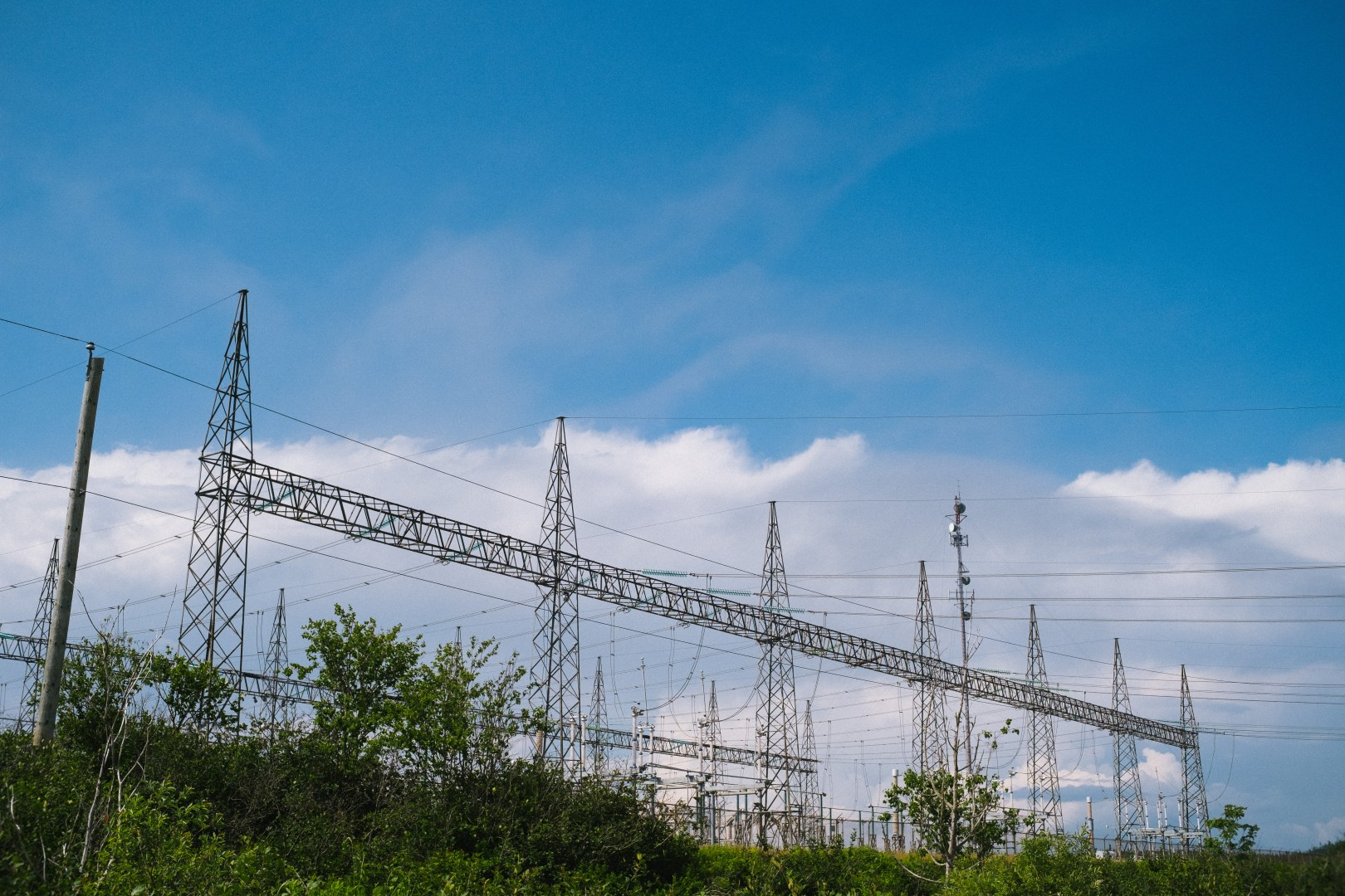 A photo of Transmission Power Lines