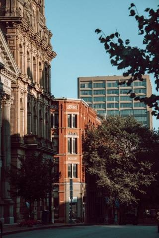 A photo of Prince William Street Buildings Vertical