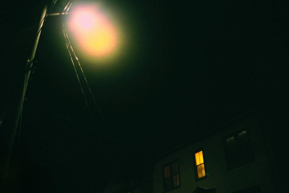 A photo of Moody street light