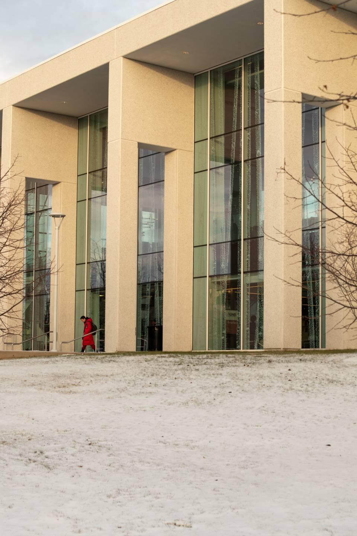 A photo of UNBSJ Hans Klohn Entrance