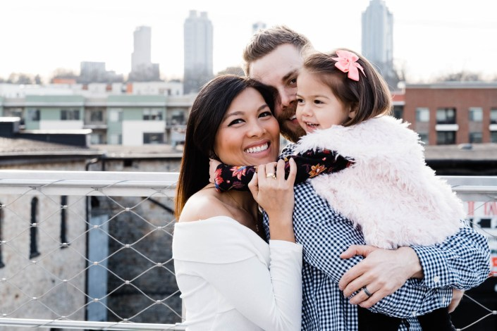 atlanta beltline family photos