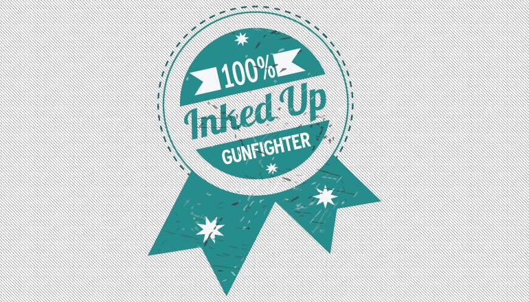 Inked Up GunFighter