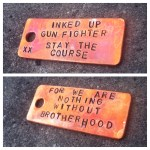 Stay The Course X Inked Up GunFighter Tag