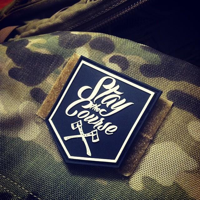 Stay The Course PVC Patch