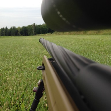 The Spiral Fluted Barrel on the AT7