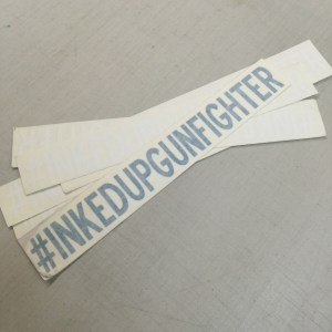 IUGF Hashtag Diecut Sticker