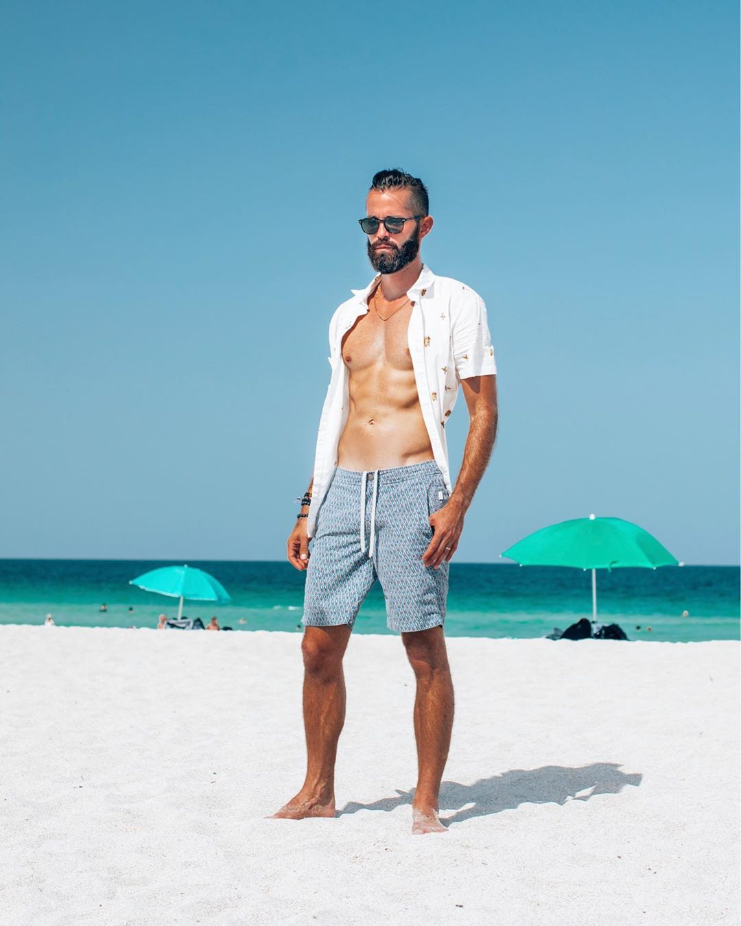 Michael Checkers men's style blogger Miami Beach Swim Week